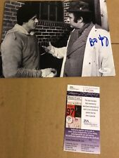 Autographed Burt Young 8x10 photo JSA rocky with Sylvester Stallone