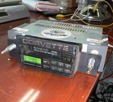 KENWOOD KRC-2007 Cassette  Ken Harrison  Stereo Shaft DIN  Chevy Corvette Works!