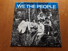 WE THE PEOPLE PS EP (LONDON 10.184 m - FRANCE 1967) ORIGINAL 1st PRESSING