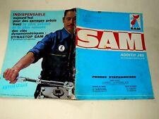 Catalogue Outil Outillage Garage SAM Années 60 auto car book tools J 69     S 66