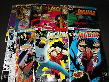 JAGUAR 1-15 IMPACT COMIC RUN 1 2 3 4 5 6 7 8 9 10 11 12 13 14 15 and 1 ANNUAL