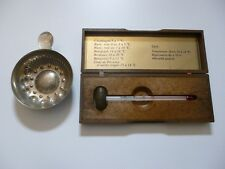 Thermomètre à vin + tastevin BOURGOGNES PATRIARCHE Bourgogne