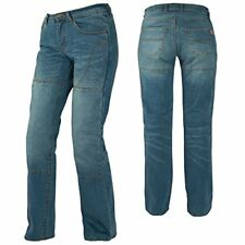 Pantalons jeans bleu taille L pour motocyclette