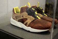 Puma Leather Disc Cage Lux OPT 2 Cork chili Dachshund Sneakers 356410-02 size 11