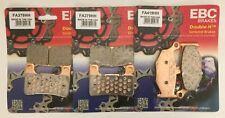 Suzuki GSXR1000 (2007 to 2008) EBC Sintered FRONT and REAR Disc Brake Pads