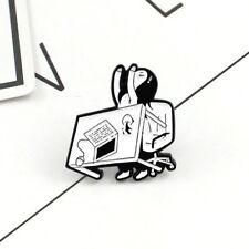 New 2019 Cute Planner Desk Flip Enamel Pin Badge Funny Meme Gift Girl Brooch