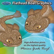 Flathead Graphics - set of 250mm Boat Graphics