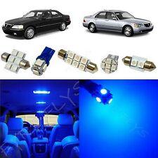 19x Blue LED lights interior package kit for 1999-2004 Acura RL AR3B