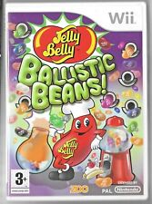 Jelly Bean BALLISTIC BEANS! Wii GAME inc case & instructions