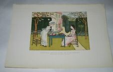 1906 KATE GREENAWAY Book Print