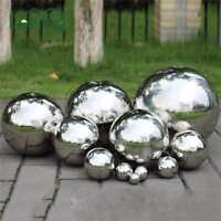 Mirror Garden Spheres Stainless Steel Hollow Ball Outdoor Decor Round Ornament