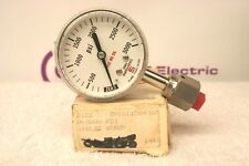Si Span S122 0-3000 Psi 316Lss Vcrsf Pressure Gauge *New in Box*