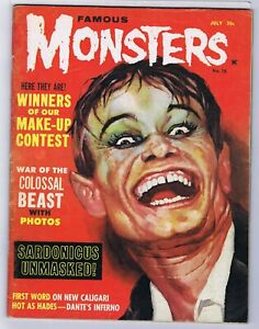 1962 FAMOUS MONSTERS OF FILMLAND  # 18 5.0  CL