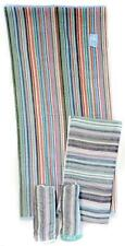 """4 Pack Bath & Beach Towels Striped 28"""" x 53.5"""" 100% Cotton Extra-Absorbent New"""