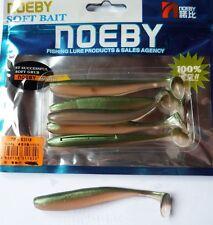 Noeby pêche leurre souple odorant Texan Minnow 10cm 5g couleur 206