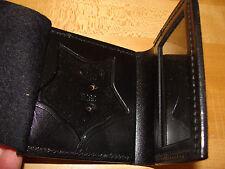 Police ID / Badge Holder Leather Folder Style Bucheimer Clark 5 Star Valencia Ca