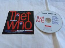THE WHO covered - Flaming Lips - Petra Haden - Sugar - CD 10 TITRES French PROMO