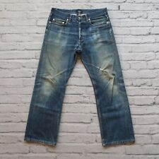 APC Distressed Rescue Selvedge Denim Jeans Size 30 31 Faded Destroyed