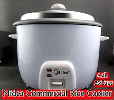 Midea Commercial Rice Cooker 4.2L/23 Cups Cooking/Keep Warm CFXB 100-58 NEW