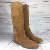 Nine West Vintage Collection Women's Boots Leather Sz 8 M Slip On Low Heel
