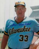 1982 BREWERS Frank Howard signed 8x10 photo w/ Hondo AUTOGRAPHED AUTO Milwaukee