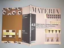 MATERIA ARCHITETTURA  DESIGN  N.43  2004 - LOUIS VUITTON STORE -  ARCHEA  3/18