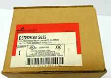 CROUSE-HINDS DSD925 *NEW* 3 Position Selector Switch Explosion Proof (1B3)