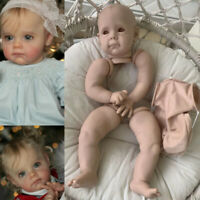 23Inch Soft Touch Reborn Doll Kit Maggi Fresh Color Vinyl Doll Parts with Body