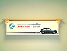 VW Corrado BANNER VR6 STORM Volkswagen Workshop Garage Car Show pvc Display Sign