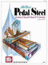 PEDAL STEEL GUITAR CHORD CHART - DEWITT, SCOTT - NEW PAPERBACK BOOK