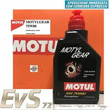 MOTUL Motylgear 75W80 Olio Trasmissione Cambio Differenziale API GL4 GL5 1 Litro