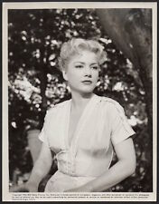 ANNE BAXTER sexy actress CARNIVAL STORY 1954 RKO Vintage Photo busty portrait