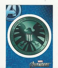 Avengers Assemble Upper Deck 2012 Chase Card Sticker S2 NM+ S.H.I.E.L.D.