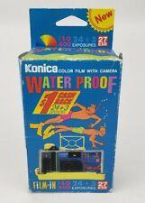 Vintage Konica Waterproof Color Film 35mm Disposable Camera exp 2001