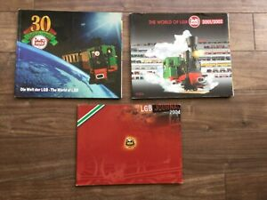 LGB Trains catalogues - 1998 (30th anniversary), 2001/2002 and 2004
