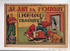 Alain la Foudre. COLLECTION VICTOIRE n°27. SAGE 1947. L'horloge tragique