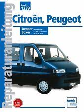 Citroen Jumper Peugeot Boxer 1994 -2000 Reparturbuch Jetzt helfe ich mir selbst