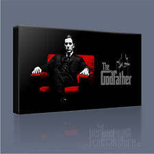 GODFATHER CORLEONE POWERFUL MODERN ICONIC CANVAS ART PRINT PICTURE Art Williams
