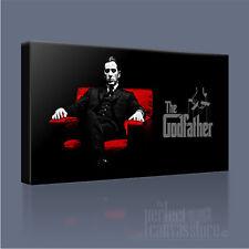 Il PADRINO Corleone potente moderna tela iconica ART PRINT PICTURE ART Williams