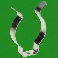 """25x T8 Fluorescent Tube Holders, 1"""" Terry Clips, 25mm, Clip on Tools, Other Uses"""