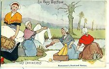 POSTCARD COMIC En Pays Breton  Les Commeres