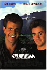 ORIGINAL AIR AMERICA + PAYBACK MOVIE POSTER MEL GIBSON