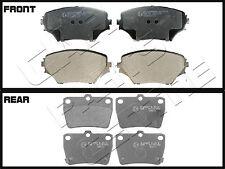 FOR TOYOTA RAV4 VVTI D4D 2001-2006 MINTEX FRONT REAR BRAKE PADS SET BRAND NEW