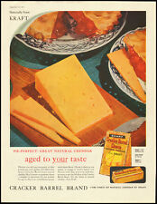 1959 Vintage ad for Cracker Barrel Cheese/KRAFT/Cheddar Cheese (032113)