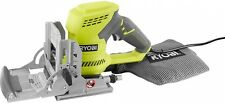 Ryobi Biscuit Joiner Kit Cuts Slots Angles Carbide Tipped Blade Metal Fences