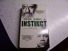 Instinct (VHS, 1999) ANTHONY HOPKINS CUBA GOODING JR.