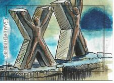 Game of Thrones Season 5 House Bolton Flayed Man Sketch Trading Card- Dan Gorman