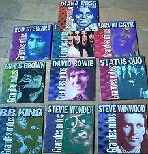 LOT OF 10 CD BEST OF BOWIE KING WONDER WINWOOD BROWN STEWART ROSS GAYE MAMAS