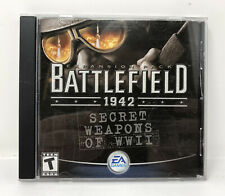 Battlefield 1942: Secret Weapons of WWII (PC, 2003) Expansion Pack W/key