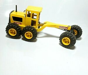 """Vintage Tonka 16180 Metal Road Grader Tractor Toy 17.5"""" Without Plow"""